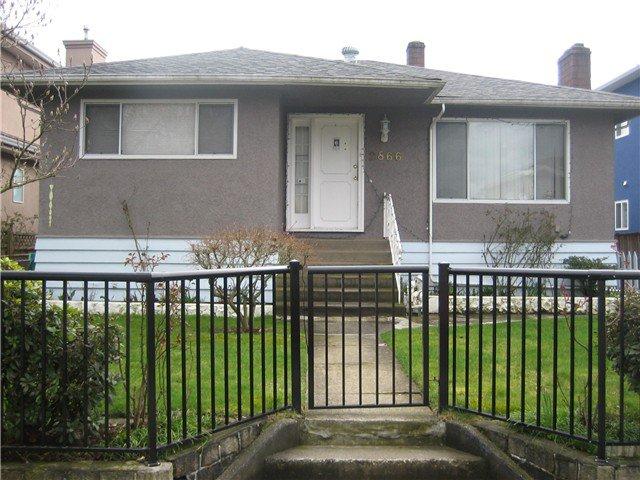 Main Photo: 2866 E 49TH AV in Vancouver: Killarney VE House for sale (Vancouver East)  : MLS®# V880215