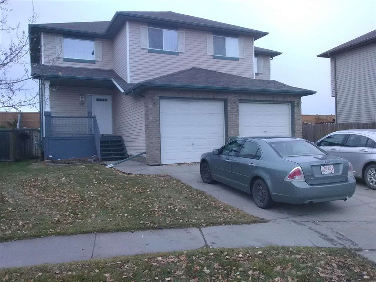 Main Photo: 92 DOUGLAS Lane: Leduc House Half Duplex for sale : MLS®# E4177767