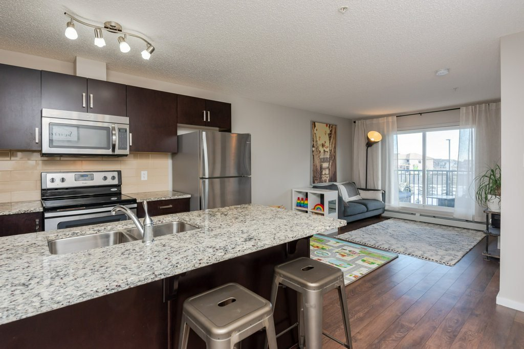 Main Photo: 210 142 EBBERS Boulevard in Edmonton: Zone 02 Condo for sale : MLS®# E4189789