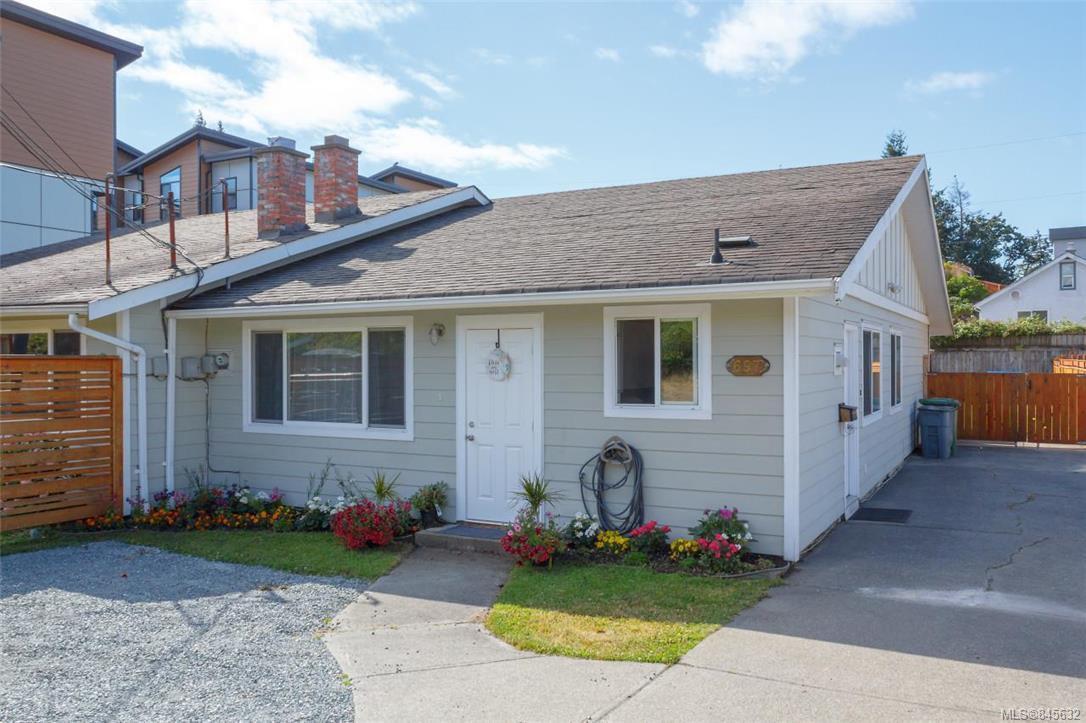 Main Photo: 697 Strandlund Ave in : La Mill Hill Half Duplex for sale (Langford)  : MLS®# 845632