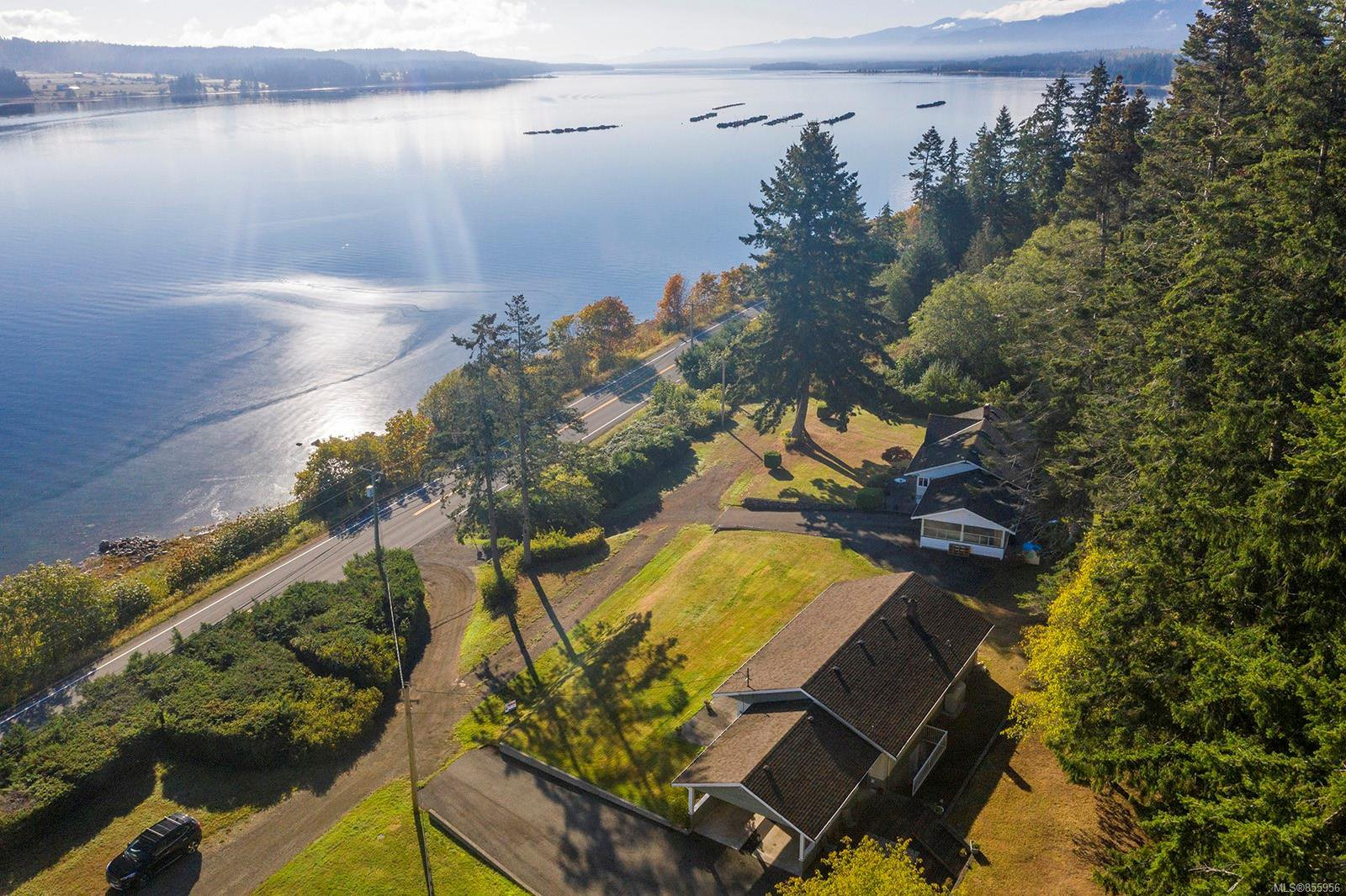 Main Photo: 6039 S Island Hwy in : CV Union Bay/Fanny Bay House for sale (Comox Valley)  : MLS®# 855956
