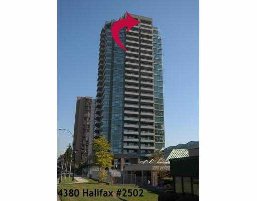 "Main Photo: 2502 4380 HALIFAX Street in Burnaby: Brentwood Park Condo for sale in ""BUCHANAN NORTH TOWER"" (Burnaby North)  : MLS®# V688144"