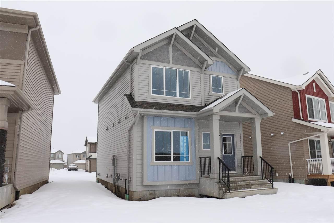 Main Photo: 3092 CHECKNITA Way SW in Edmonton: Zone 55 House for sale : MLS®# E4186888