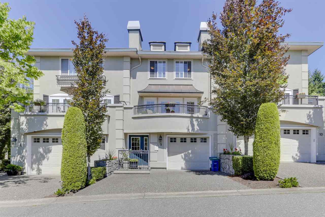 "Main Photo: 9 1651 PARKWAY Boulevard in Coquitlam: Westwood Plateau Townhouse for sale in ""VERDANT CREEK"" : MLS®# R2478648"