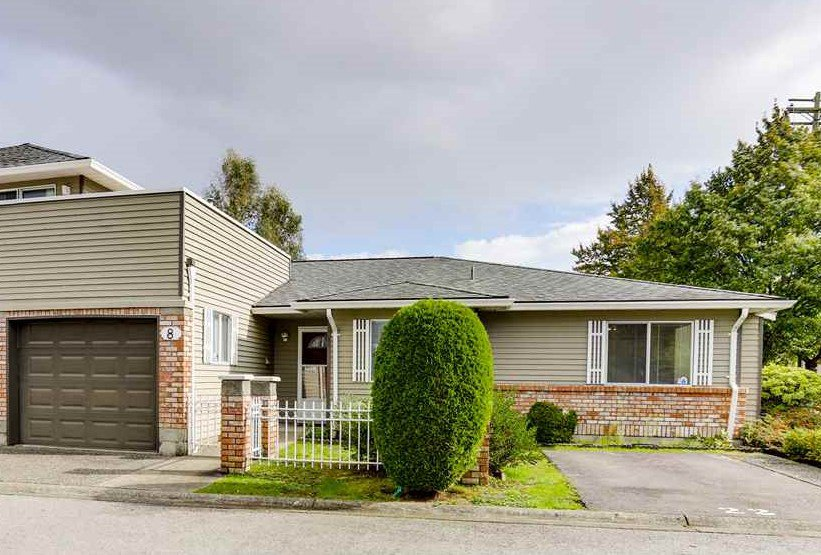 "Main Photo: 8 6350 48A Avenue in Delta: Holly Townhouse for sale in ""GARDEN ESTATES"" (Ladner)  : MLS®# R2508517"