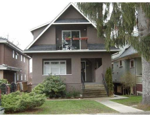 Main Photo: 191 W 17TH AV in Vancouver: House for sale : MLS®# V814169
