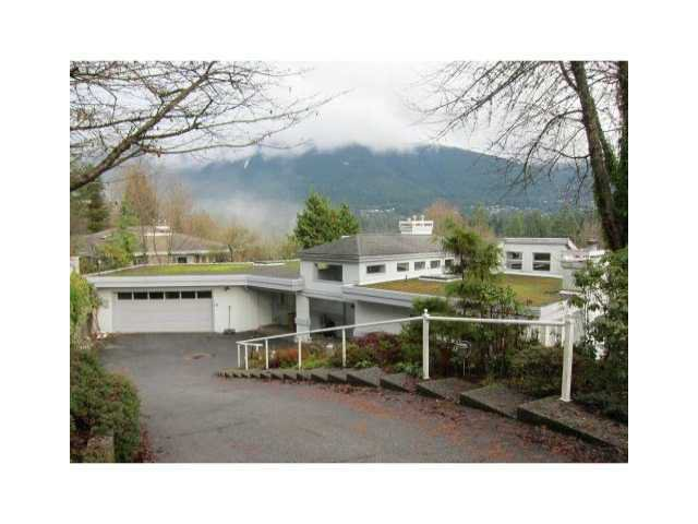 Main Photo: 238 STEVENS DR in West Vancouver: British Properties House for sale : MLS®# V880722