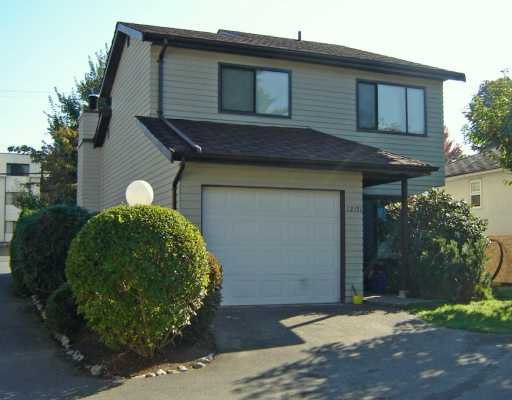 """Main Photo: 12151 222ND Street in Maple Ridge: West Central Townhouse for sale in """"THE CEDARS"""" : MLS®# V616616"""