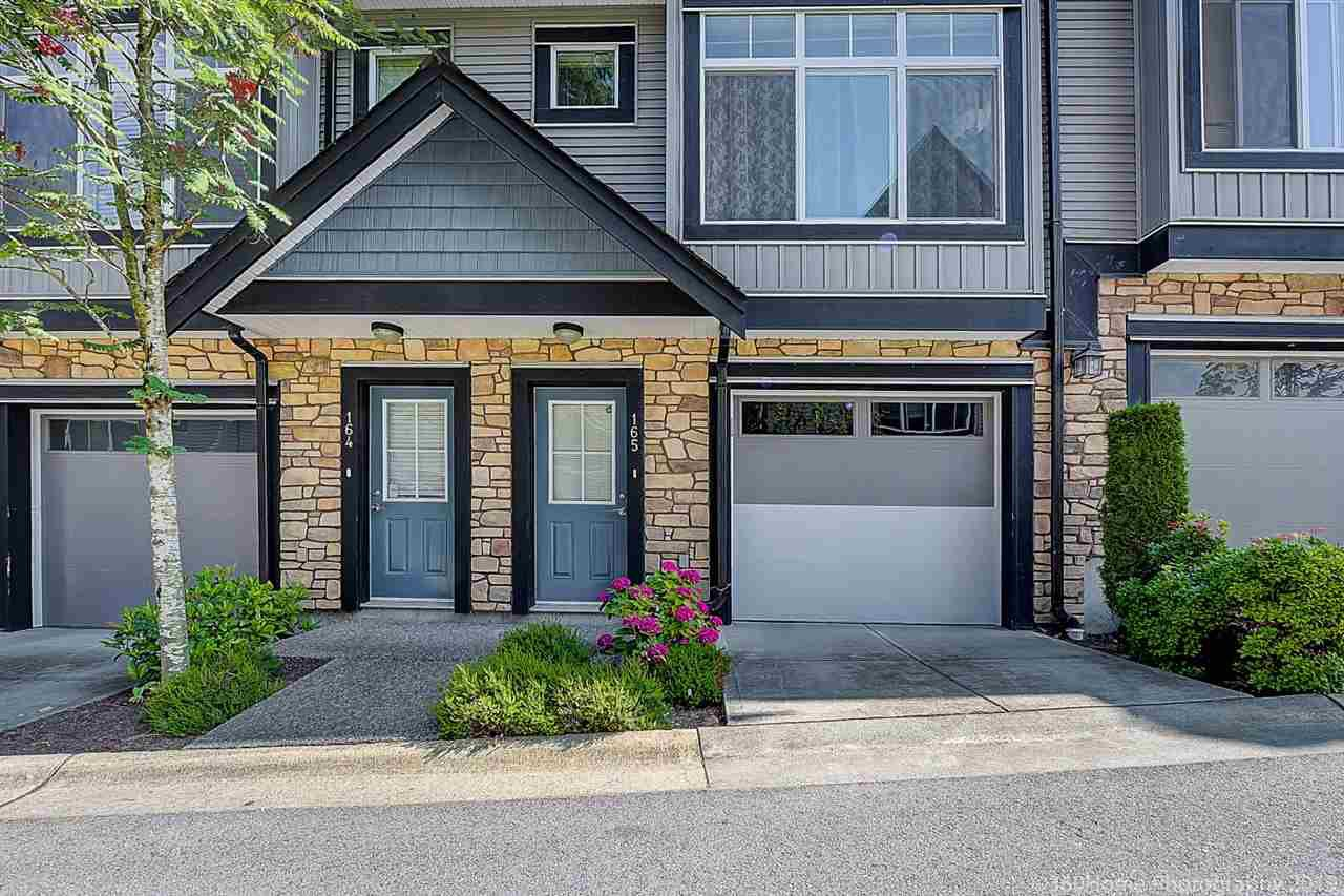 Main Photo: 165 6299 144 Street in Surrey: Sullivan Station Townhouse for sale : MLS®# R2391103