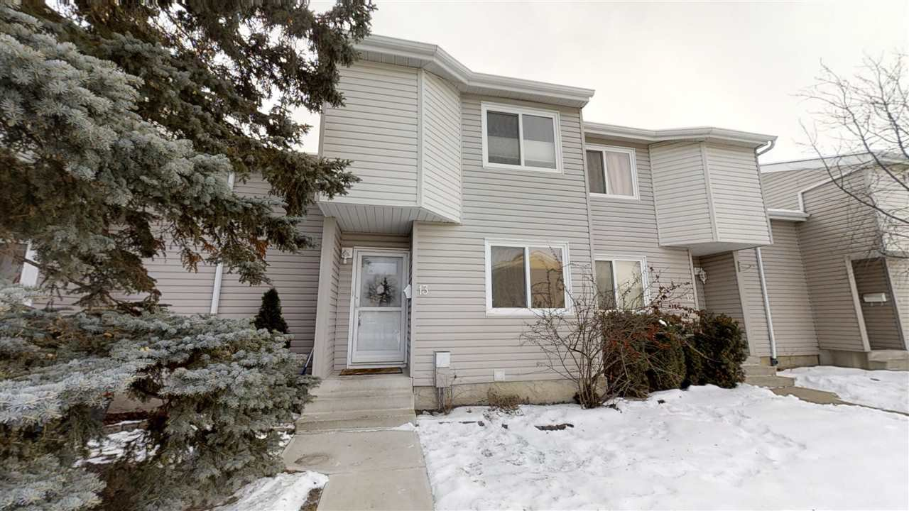 Main Photo: 13 3221 119 Street in Edmonton: Zone 16 Townhouse for sale : MLS®# E4183877