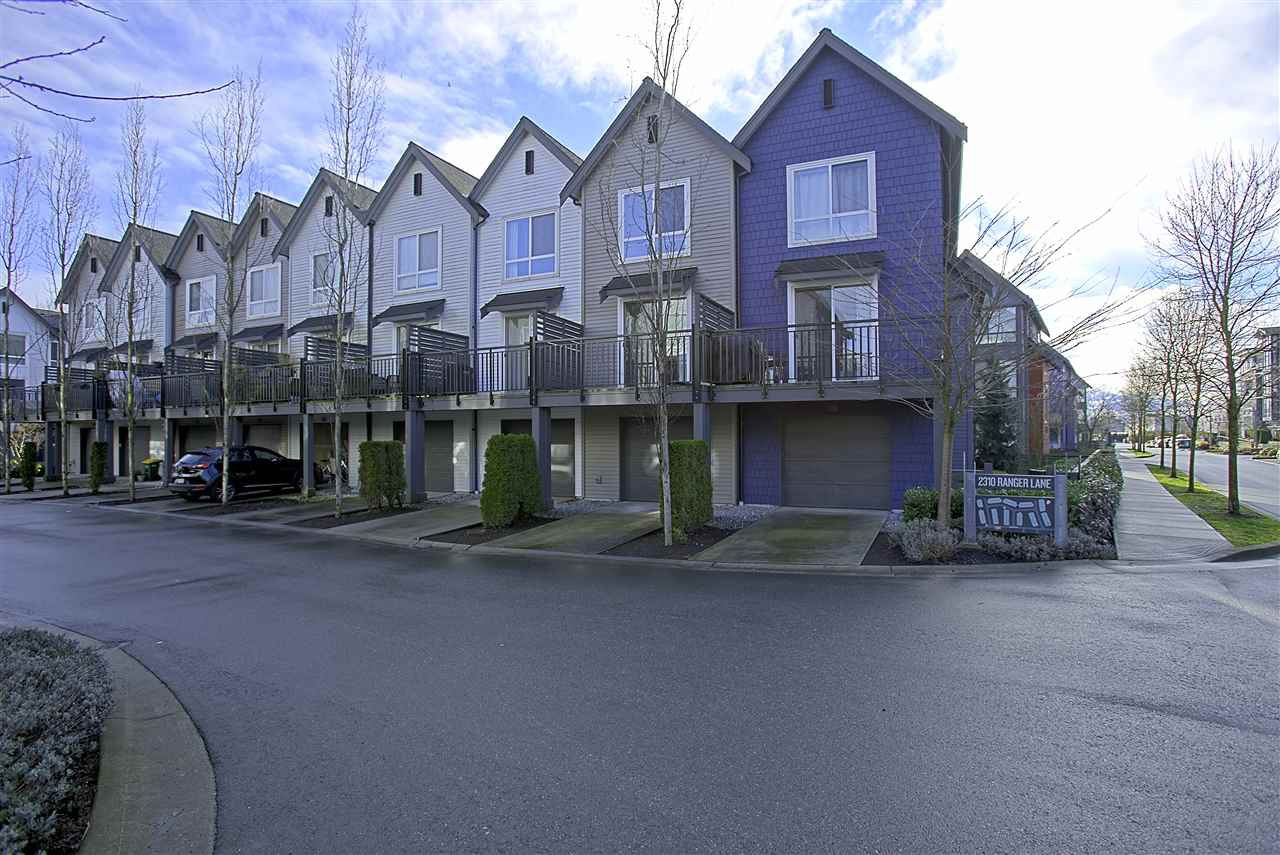 "Main Photo: 13 2310 RANGER Lane in Port Coquitlam: Riverwood Townhouse for sale in ""FREMONT BLUE"" : MLS®# R2433236"