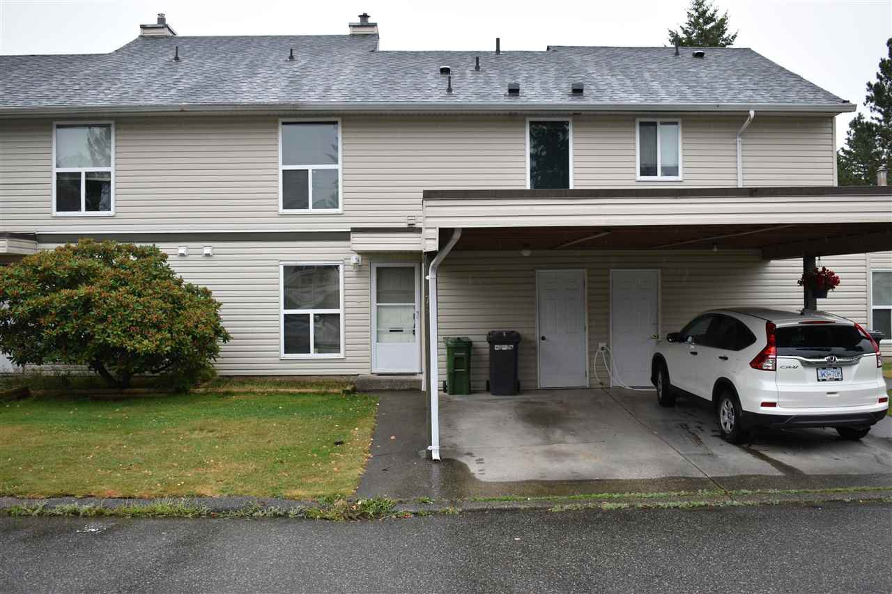 "Main Photo: 79 3030 TRETHEWEY Street in Abbotsford: Abbotsford West Townhouse for sale in ""Clearbrook Village"" : MLS®# R2483909"