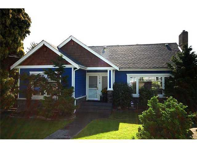 Main Photo: 1718 NANAIMO ST in New Westminster: West End NW House for sale : MLS®# V905917