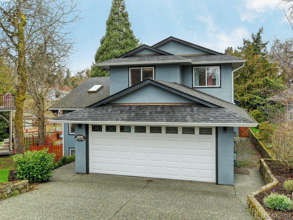 Main Photo: 1370 Charles Pl in VICTORIA: SE Cedar Hill Single Family Detached for sale (Saanich East)  : MLS®# 834275
