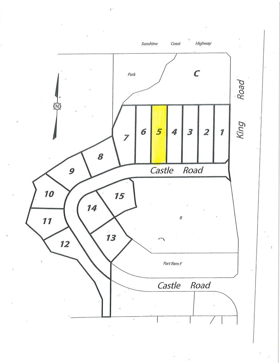 "Main Photo: LOT 5 CASTLE Road in Gibsons: Gibsons & Area Land for sale in ""KING & CASTLE"" (Sunshine Coast)  : MLS®# R2422363"