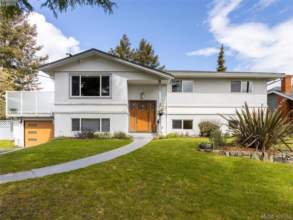 Main Photo: 3997 San Mateo Place in VICTORIA: SE Gordon Head Single Family Detached for sale (Saanich East)  : MLS®# 424703