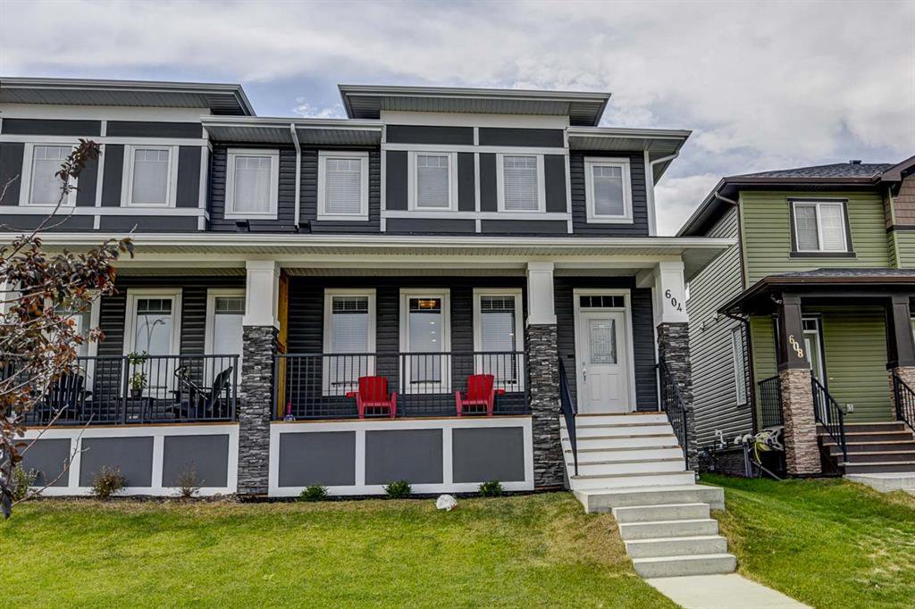 Main Photo: 604 EVANSTON Link NW in Calgary: Evanston Semi Detached for sale : MLS®# A1021283