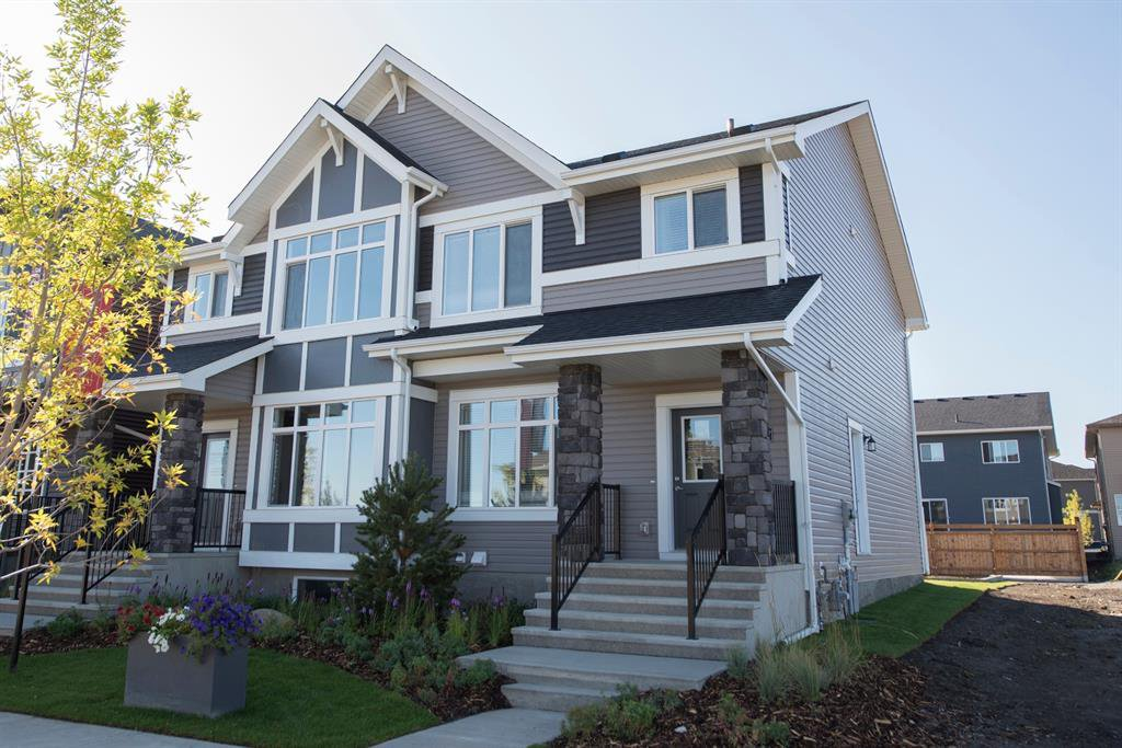 Main Photo: 107 Savanna Boulevard NE in Calgary: Saddle Ridge Semi Detached for sale : MLS®# A1033928