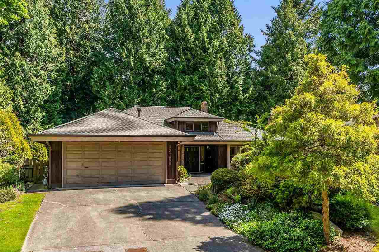 """Main Photo: 13180 AMBLE GREEN Close in White Rock: Crescent Bch Ocean Pk. House for sale in """"Cresent Beach Ocean Park"""" (South Surrey White Rock)  : MLS®# R2444264"""