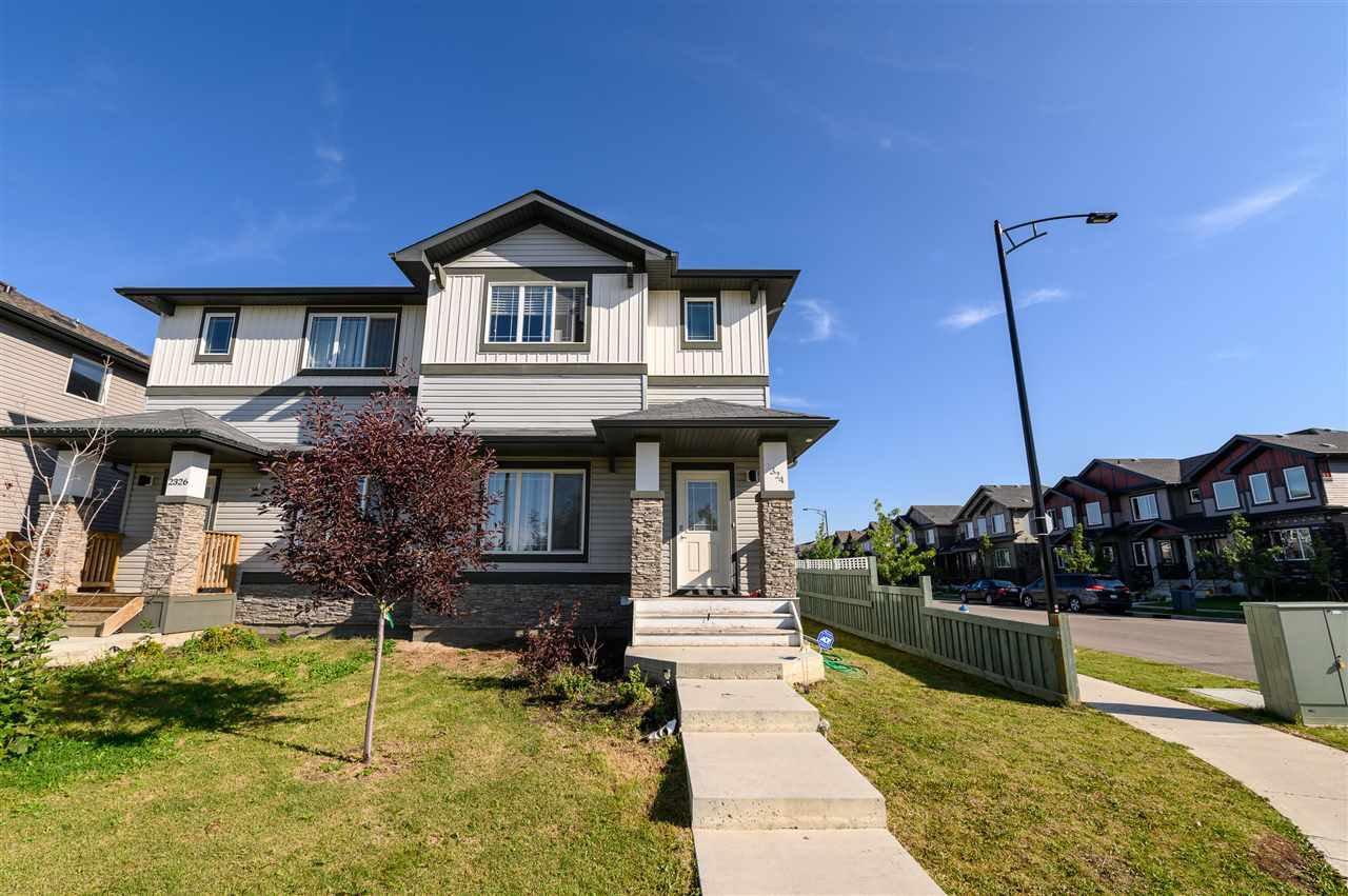 Main Photo: 2324 GLENRIDDING Boulevard in Edmonton: Zone 56 House Half Duplex for sale : MLS®# E4213271
