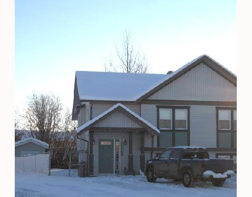 """Main Photo: A 4415 HERITAGE Crescent in Fort_Nelson: Fort Nelson -Town 1/2 Duplex for sale in """"MIDTOWN SUB"""" (Fort Nelson (Zone 64))  : MLS®# N172450"""