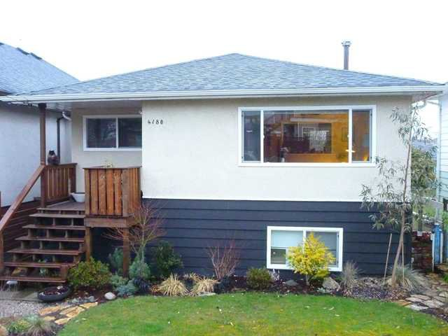 Photo 1: Photos: 4180 ST CATHERINES ST in Vancouver: Fraser VE House for sale (Vancouver East)  : MLS®# V875358