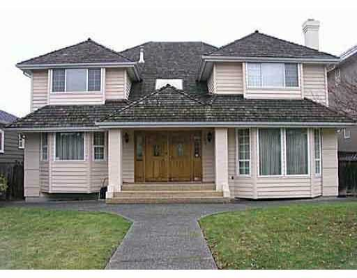 Main Photo: 2423 W 18TH AV in Vancouver: Arbutus House for sale (Vancouver West)  : MLS®# V524074