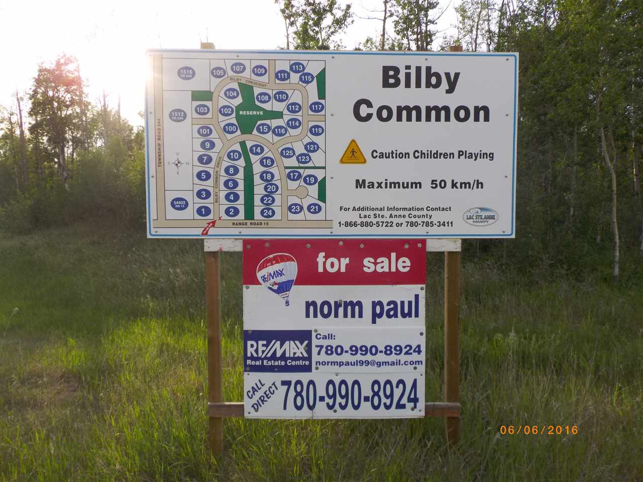 Main Photo: Twp 54 RR 15 NW: Rural Lac Ste. Anne County Rural Land/Vacant Lot for sale : MLS®# E4180348