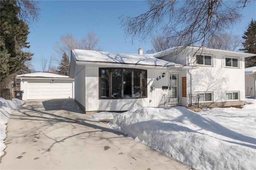 Main Photo: 63 Celtic Bay in Winnipeg: Fort Richmond Residential for sale (1K)  : MLS®# 202006112