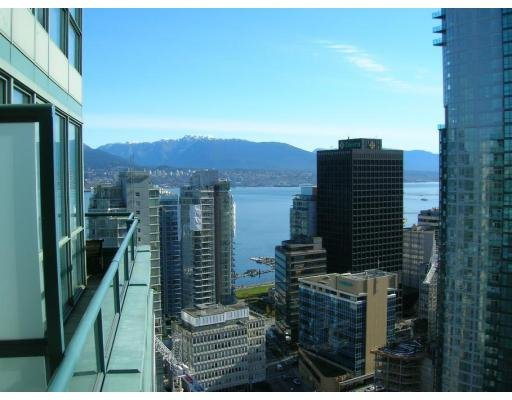 Main Photo: # 2709 1239 GEORGIA ST in Vancouver: CB Coal Harbour Condo for sale (VW Vancouver West)  : MLS®# V635850