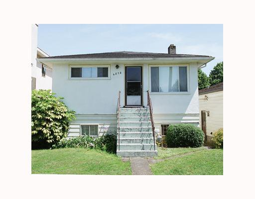 Main Photo: 4272 SKEENA Street in Vancouver: Renfrew Heights House for sale (Vancouver East)  : MLS®# V651751