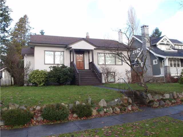 Main Photo: 3815 W 36 TH Avenue in VANCOUVER: Dunbar House for sale (Vancouver West)  : MLS®# V860844