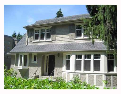 Main Photo: 4921 ANGUS Drive in Vancouver: Shaughnessy House for sale (Vancouver West)  : MLS®# V669272