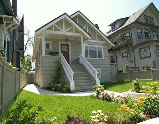Main Photo: 476 W 17TH Ave in Vancouver: Cambie House for sale (Vancouver West)  : MLS®# V596131