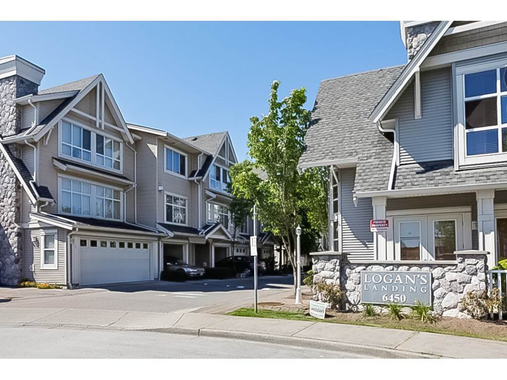 "Main Photo: 26 6450 199 Street in Langley: Willoughby Heights Townhouse for sale in ""Logan's Landing"" : MLS®# R2413186"
