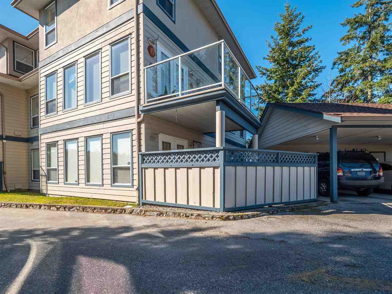 "Main Photo: 105 5768 MARINE Way in Sechelt: Sechelt District Condo for sale in ""Cypress Ridge"" (Sunshine Coast)  : MLS®# R2446337"