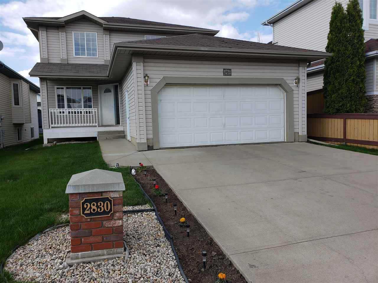 Main Photo: 2830 41 Avenue in Edmonton: Zone 30 House for sale : MLS®# E4199050