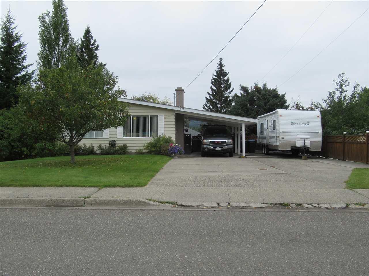 Main Photo: 789 N 10TH Avenue in Williams Lake: Williams Lake - City House for sale (Williams Lake (Zone 27))  : MLS®# R2502081
