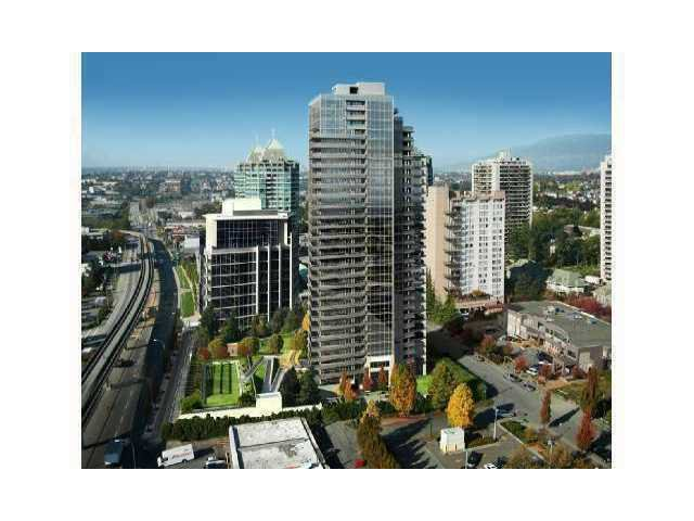 """Main Photo: # 1306 4400 BUCHANAN ST in Burnaby: Brentwood Park Condo for sale in """"MOTIF"""" (Burnaby North)  : MLS®# V858319"""