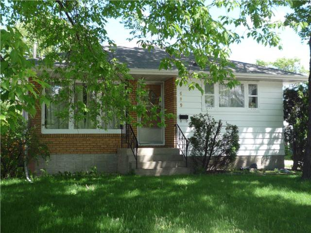 Main Photo: 489 Greene Avenue in WINNIPEG: East Kildonan Residential for sale (North East Winnipeg)  : MLS®# 1010343