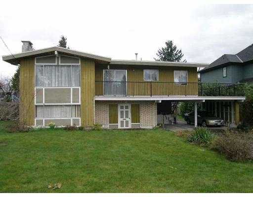 Photo 1: Photos: 1853 WINSLOW AV in Coquitlam: Central Coquitlam House for sale : MLS®# V581598