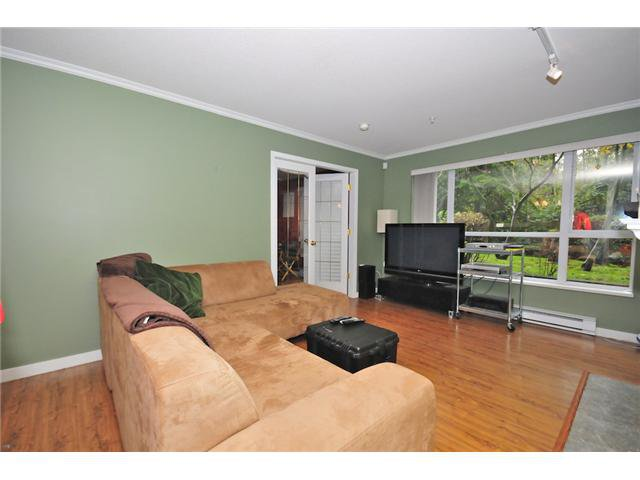 "Main Photo: 111 2559 PARKVIEW Lane in Port Coquitlam: Central Pt Coquitlam Condo for sale in ""THE CRESCENT"" : MLS®# V857709"