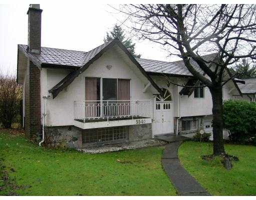 Main Photo: 5540 PARKER Street in Burnaby: Parkcrest House for sale (Burnaby North)  : MLS®# V621361