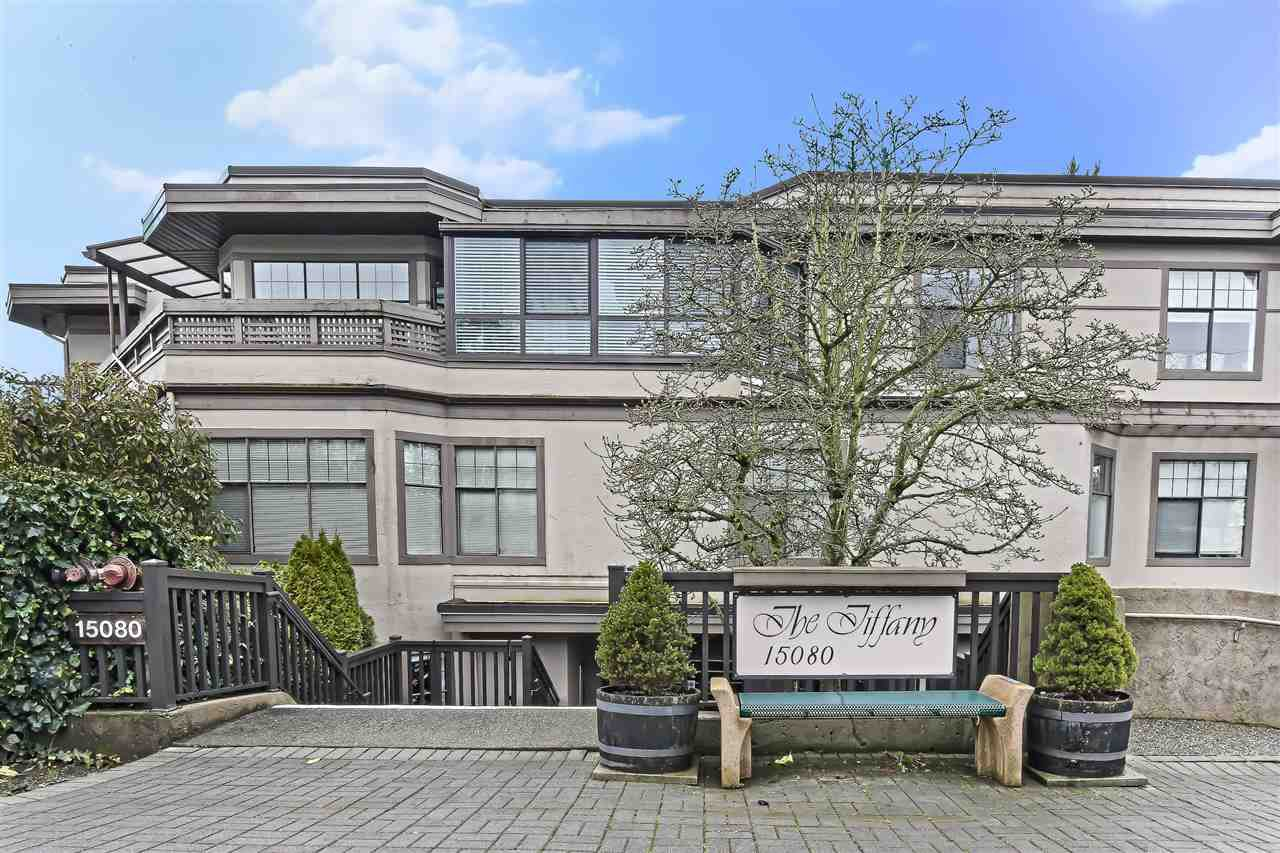 "Main Photo: 203 15080 PROSPECT Avenue: White Rock Condo for sale in ""The Tiffany"" (South Surrey White Rock)  : MLS®# R2434802"