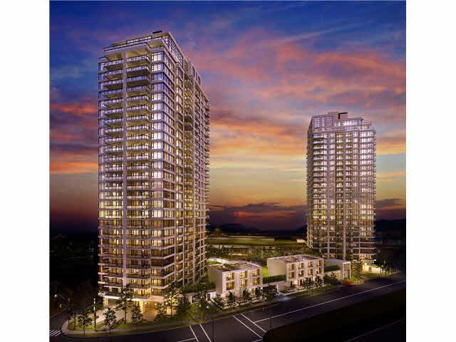 "Main Photo: 1002 602 COMO LAKE Avenue in Coquitlam: Coquitlam West Condo for sale in ""UPTOWN"" : MLS®# R2436446"