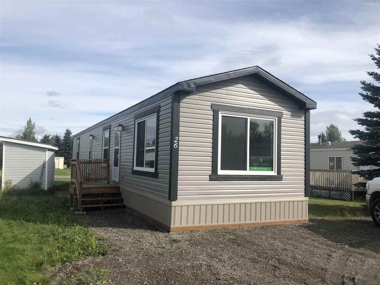 "Main Photo: 26 8622 HART Highway in Prince George: Hart Highway Manufactured Home for sale in ""WILDWOOD"" (PG City North (Zone 73))  : MLS®# R2477577"