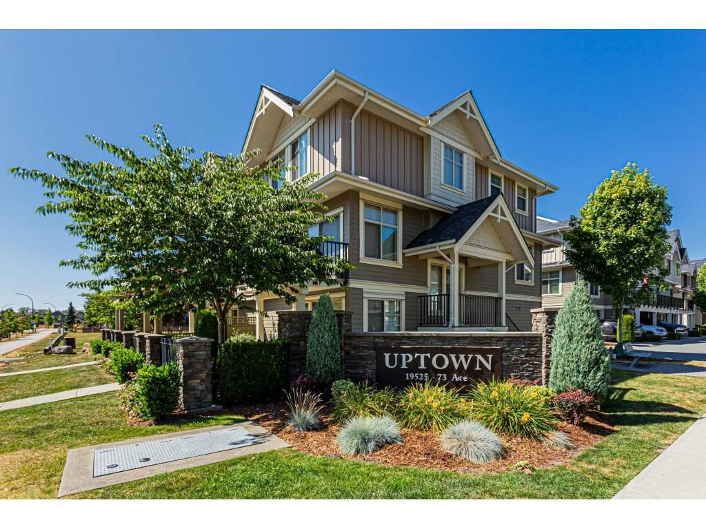 "Main Photo: 66 19525 73 Avenue in Surrey: Clayton Townhouse for sale in """"Uptown"" Clayton Village"" (Cloverdale)  : MLS®# R2483622"
