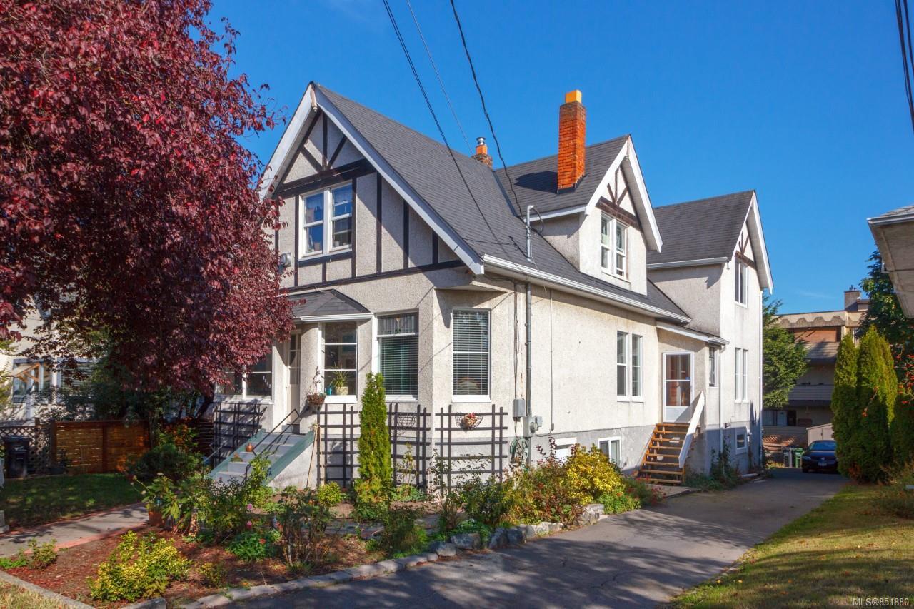 Main Photo: 3043 Washington Ave in : Vi Burnside House for sale (Victoria)  : MLS®# 851880