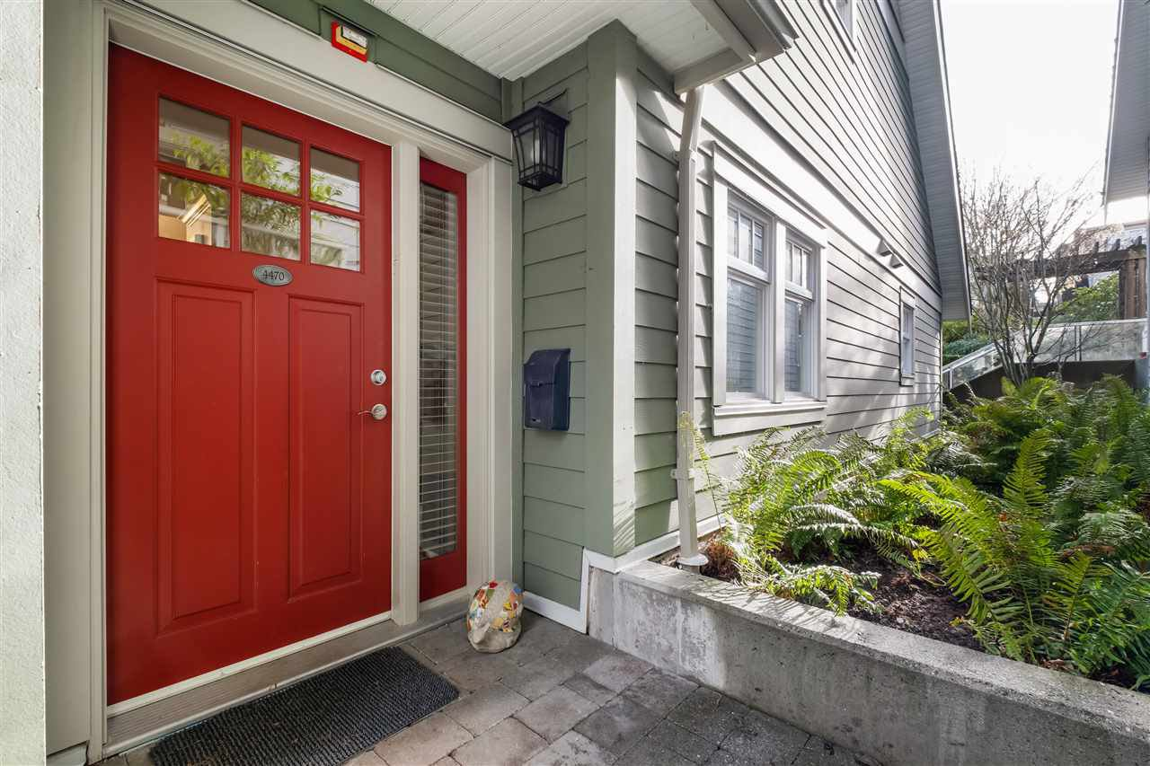 Main Photo: 4470 W 8TH AVENUE in Vancouver: Point Grey Townhouse for sale (Vancouver West)  : MLS®# R2524251