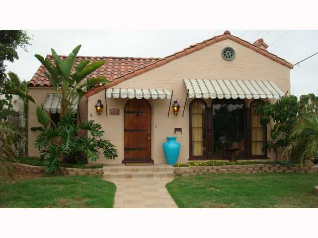 Main Photo: NORTH PARK House for sale : 4 bedrooms : 3448 Pershing in San Diego